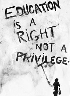 Education as a HumanRight