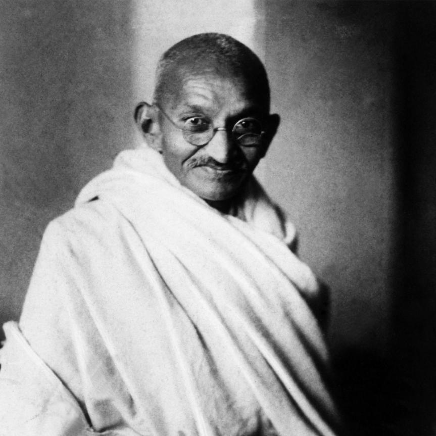 Gandhi preach usmore!