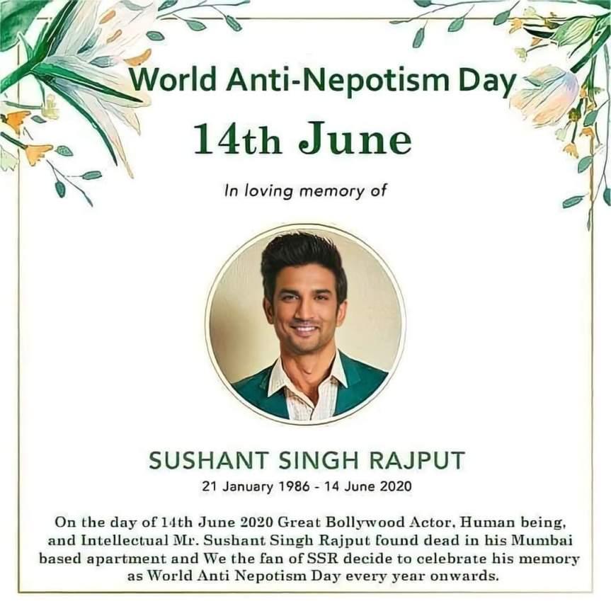 World Anti-Nepotism Day ( June14)
