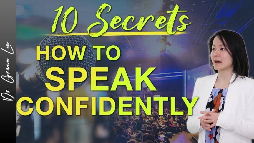 10 Secrets To SoundingConfident