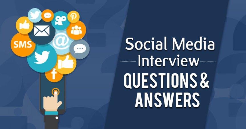 Top 15 Social Media InterviewQuestions