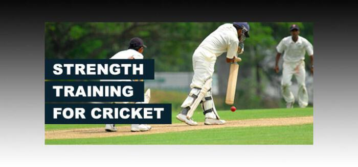 Strength Training for CricketPlayers