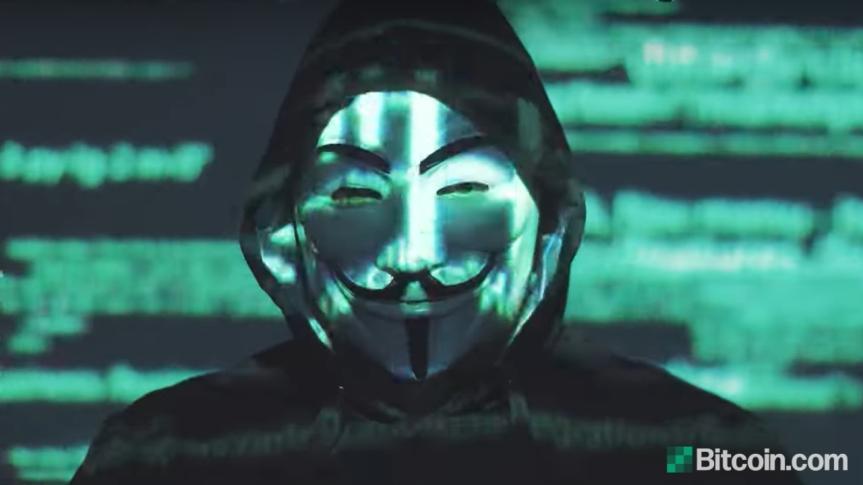 Anonymous warns ElonMusk