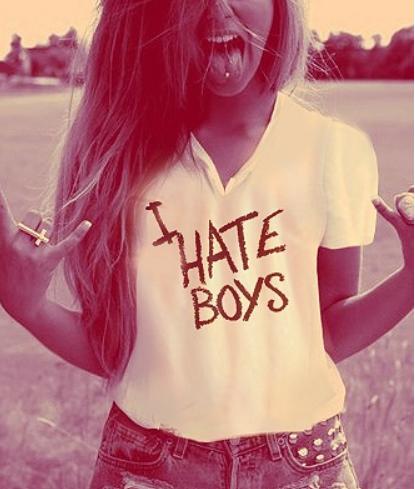 Why girls hate boys?