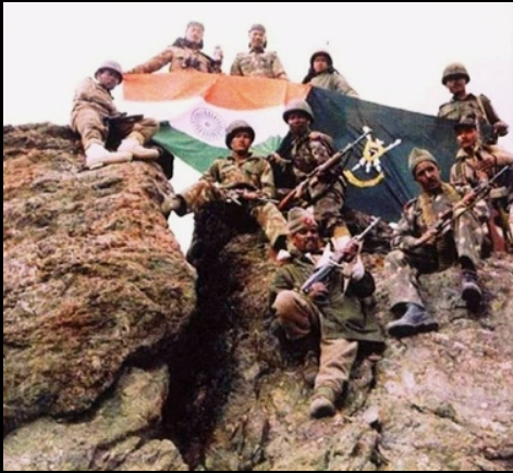 The Indian Army after victory at Kargil