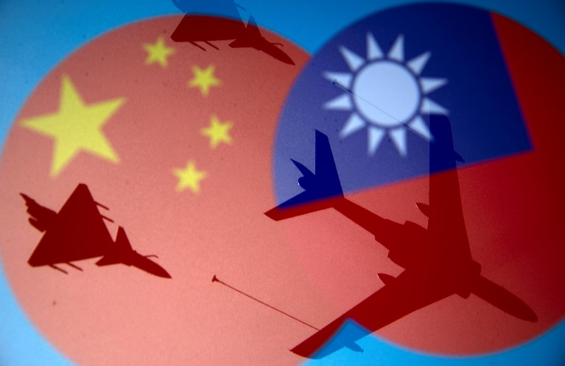 Chinese incursion inTaiwan
