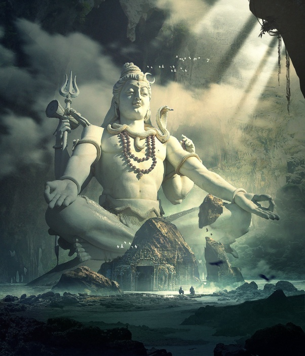 When Lord Shiva's hand is on you, what signs might you expect tosee?