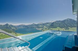 Hotel Villa Honegg Pool