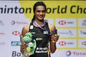 PV Sindhu winning the bronze medal at the Tokyo Olympics